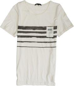RHYTHM RESIN STRIPE KNIT  Mens  Clothing  Tees Short Sleeve | Swell.com