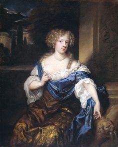 Helena Catharina de Witte by Caspar Netscher