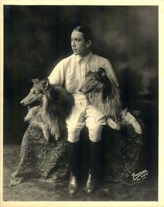 jack pickford with his dogs