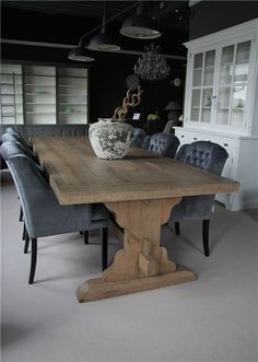 Image result for gray wash farmhouse table