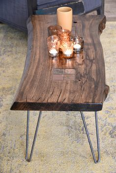 If you are interested in starting a furniture business from home then I hope this article will help you. But I would like to tell you a bit about myself first. Live Edge Table, Live Edge Wood, Live Edge Furniture, Wood Furniture, Furniture Ideas, Solid Wood Coffee Table, Coffee Tables, Coffee Table Pictures, Men Home Decor