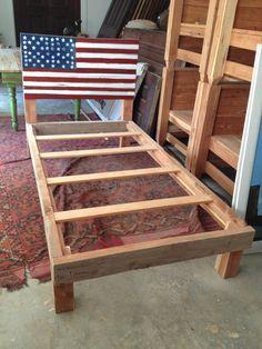 Handmade Heritage Kids Bed  Reclaimed Wood by ReclaimedAmerica, $1000.00