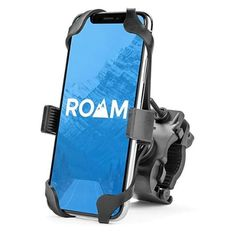 Roam Universal Premium Bike Phone Mount Holder for Motorcycle / Bike Handlebars, Adjustable, Fits iPhone / Plus, iPhone 7 / 7 Plus, Galaxy Holds Phones Up To Harley Davidson Handlebars, Cell Phone Mount, Bike Mount, Bike Handlebars, Bicycle Lights, Motorcycle Bike, Motorcycle Decals, Women Motorcycle, Shopping