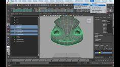 Dorito Effect for facial Rig in Maya