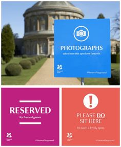Signage for the National Trust // The Click