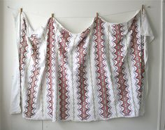 Southwest Embroidered Tablecloth by boxofhollyhocks on Etsy