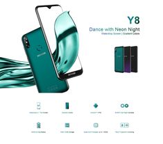 DOOGEE Y8 6.1 Inch HD Waterdrop Screen Android 9.0 3GB RAM 16GB ROM MT6739 Quad Core 4G Smartphone - Luminous black Samsung Accessories, Camera Accessories, Big Battery, Android 9, Water Drops, Watch Bands, Quad, Smartphone, Mobile Phones