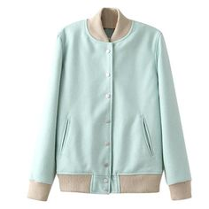 NEW! Minty Bomber Jacket available at IMANICOSMO.com!