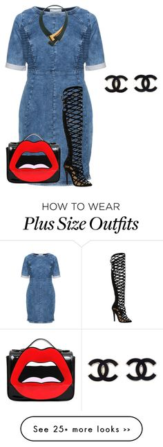 """""""curvy/plus, all eyes on you!"""" by kristie-payne on Polyvore featuring Carmakoma, Yazbukey and Marni"""