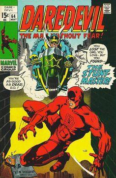 Daredevil # 64 by Marie Severin, Syd Shores & John Romita