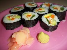 Homemade Sushi Recipe and Tutorial (Maki Rolls)