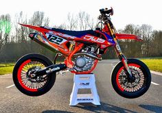 """2016 KTM SXF 450  Rate it 1-10! Via: @supermotocentral & @supermofools #MotardMafia"""