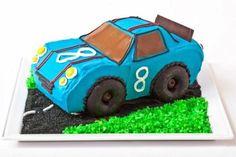 Race Car Birthday Cake Design | Parenting