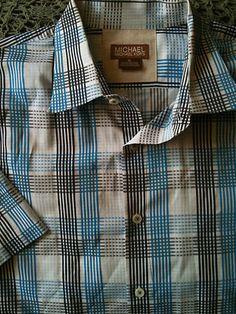 Michael Kors Mens shirt 9.99 Plaid  http://stores.ebay.com/Brittimco-Resale-Shop