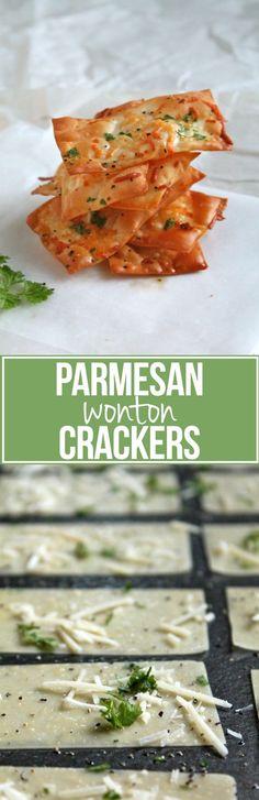 Parmesan Wonton Crackers                                                                                                                                                                                 More