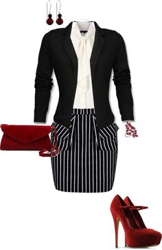 """""""Business Chic"""" by erinlindsay83 on Polyvore"""