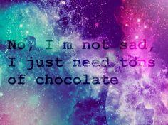 im not sad