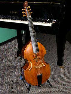 viola da gamba - renaissance string instrument