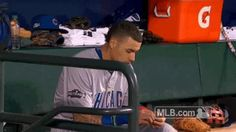 New trendy GIF/ Giphy. mlb baseball catch postseason cubs chicago cubs gotcha nlds got it cubbies baez game 4 javier baez nice save javi baez you see that. Let like/ repin/ follow @cutephonecases