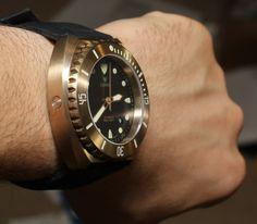 Longio Zhuke Bronze Watch Review