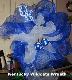 U K Wildcats Wreath