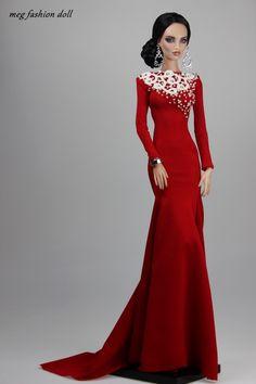 doll gowns / meg fashion doll / 12.30.2