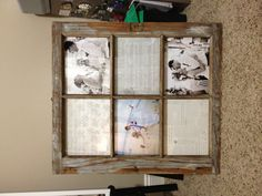 barn window picture frame - Window Picture Frames