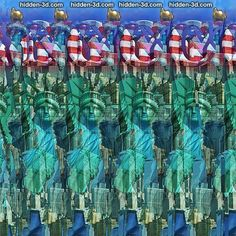 Liberty   #3d #stereogram  #autostereogram  #hidden3d #illusion