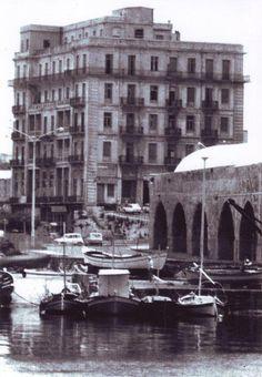 Heraklion - 1970s, Harbour, Megaron Fitaki