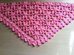 Chal crochet flores puff muy facil de tejer / Châle fleur puff crochet facile - YouTube                                                                                                                                                                                 Más