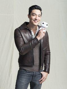 Daniel Henney, voice actor of Tadashi Hamada from Big Hero 6! <3