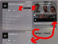 We show you how to share orfium music (player or playlist) on social media or your homepage (for example wordpress)