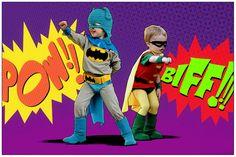 Classic Batman and Robin Kidsu0027 DIY Costumes   Diy costumes Costumes and Halloween costumes  sc 1 st  Pinterest & Classic Batman and Robin Kidsu0027 DIY Costumes   Diy costumes Costumes ...
