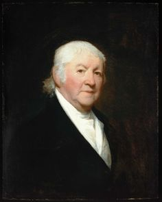 Paul Revere - 1813 - Gilbert Stuart (American, 1755–1828) - Dimensions: 71.75 x 57.15 cm (28 1/4 x 22 1/2 in.), Oil on panel.  Paul Revere (1734-1818) was an American silversmith & a patriot in the American Revolution. While Revere struggled as a merchant, his success as a silversmith enabled him to pursue & leverage more advanced technological developments for the purposes of mass production. Rolling mills greatly improved the productivity of his silver shop...