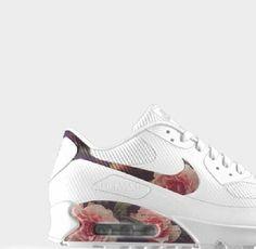 Nike Roshe Course Maxi Floral Blanc Imprimé