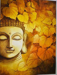 Poster Color Painting, Mural Painting, Oil Painting Abstract, Buddha Decor, Buddha Art, Budha Painting, Awkward Animals, Kalamkari Painting, Psychadelic Art