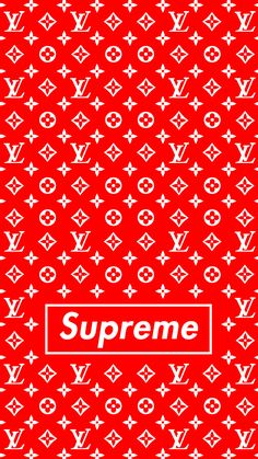 Fond D Ecran Louis Vuitton Supreme