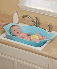 Look at this #zulilyfind! Safety 1st Blue Sink Snuggler by Safety 1st #zulilyfinds
