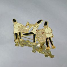 Vintage  Band Brooch Marching Band by waalaa on Etsy, $21.99