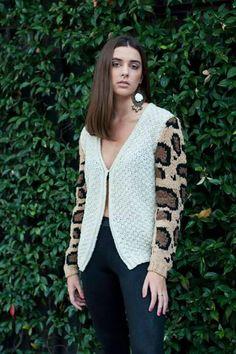 Knitwear - Sweater - Animal print - AW'15
