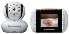 "Motorola MBP33 Wireless Video Baby Monitor with Infrared Night Vision and Zoom 2.8"" Color LCD $179.97"