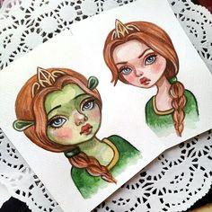 20 Mejores Imagenes De Shrek Shrek Fiona Y Shrek Princesa Fiona
