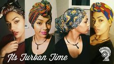 Do you need a head wrap tutorial? Read this post and check out the videos so you can learn to wrap your head scarf and create a traditional turban Natural Hair Tips, Natural Hair Journey, Natural Hair Styles, Head Wrap Headband, Head Wrap Scarf, Head Scarfs, Head Turban, Turban Tutorial, Mode Turban