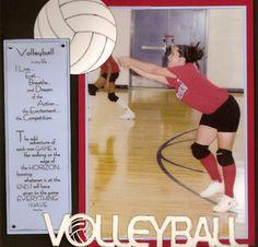 Volleyball - Scrapbook.com