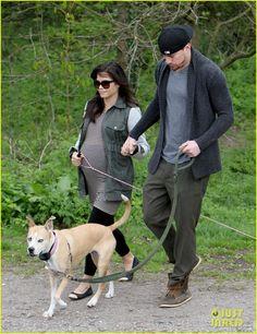 Channing Tatum & Pregnant Jenna Dewan