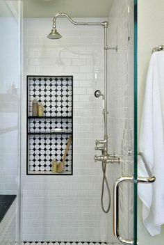 Niches murales, ideo magazine, tendance, salle de bain, pinterest, inspiration, déco, deco, déco salle de bain, décoration, décoration salle de bain