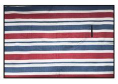 Piknikové deky s červeno modrými pásikmi Flag, Science, Flags