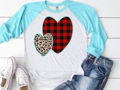 Valentines Day Shirts, Be My Valentine, Valentine Sday, Plaid And Leopard, Cheetah, Other Outfits, Make Color, Shirt Style, Summer Outfits