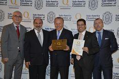 Premiazione New York Sept 2013