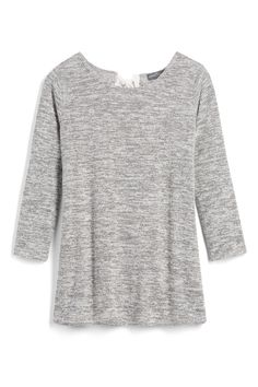 Such a cute basic but with a twist, it's got a bow in the back.  It's just the kind of top that I love and so happy to get it in my latest Stitch Fix.